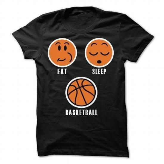 eat sleep basketball tee shirts and hoodies shop now tags basketball t - Basketball T Shirt Design Ideas
