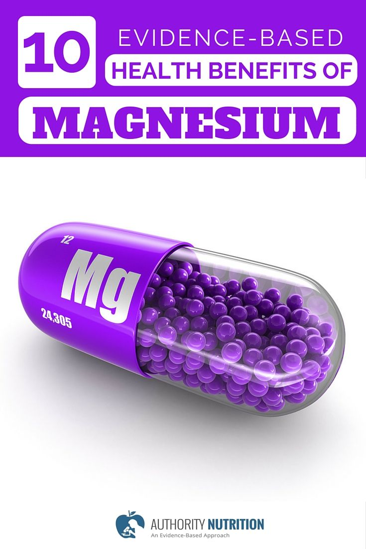 10 Evidence-Based Health Benefits of Magnesium