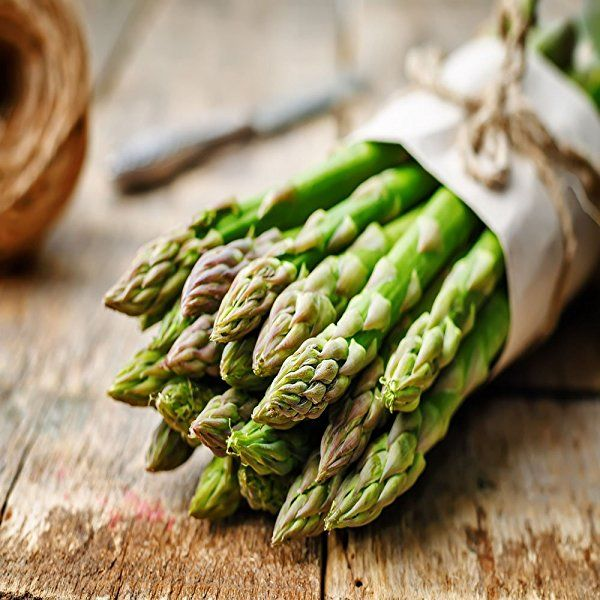 Asparagus.  Late winter or early spring is the best time for planting asparagus. Crowns, not seed, are used to establish the plant. Check with area garden centers early in case the crowns need to be ordered. Asparagus grows best in fertile, well-drained soil that is high in organic matter.  http://www.farmersmarketonline.com/guides/asparagus.html