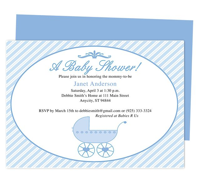 42 best Baby Shower Invitation Templates images on Pinterest