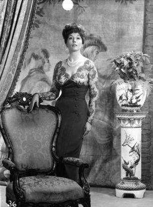 A Very Interesting Dress On Barbara Shelley Hollywood