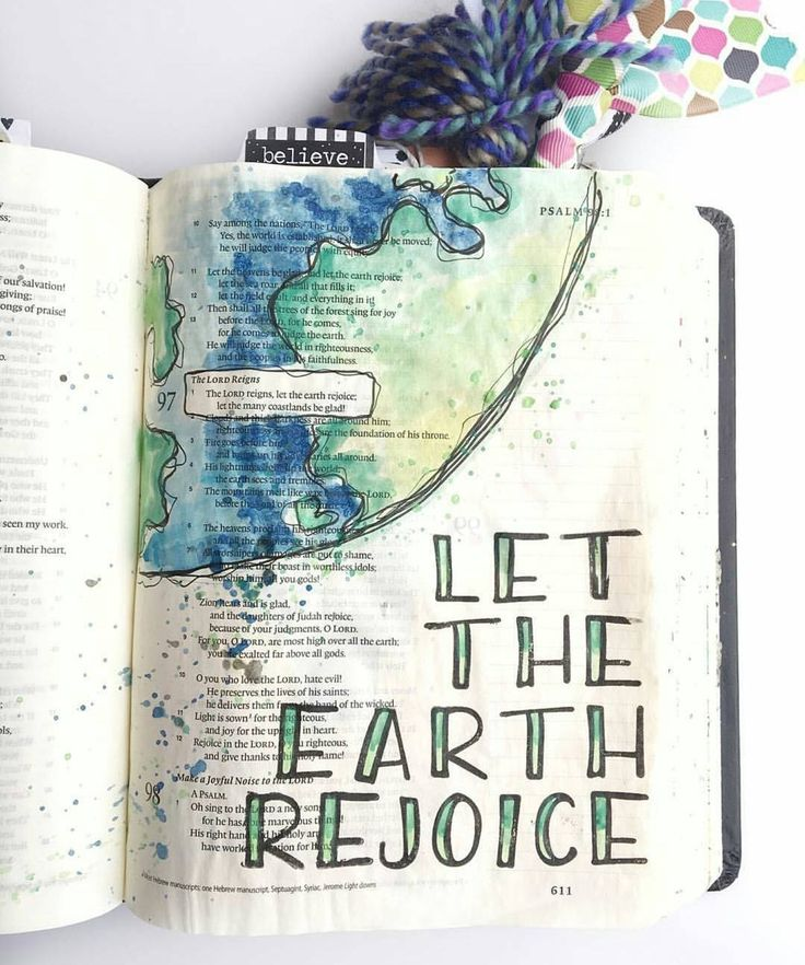 Bible Journaling by @sonshinestampco
