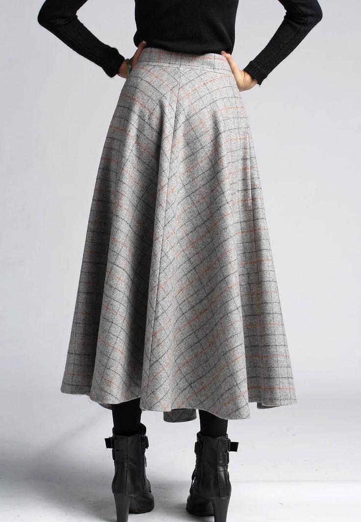 Winter Wool Skirt 94