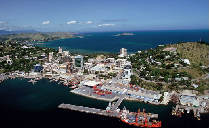 Destination PNG, Circa 1995. Business Potential: PNG Harbours Board