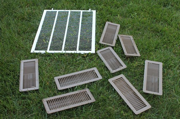 23. Take your vent covers outside and hose them down. | 31 Ways To Seriously Deep Clean Your Home