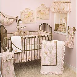 Cotton Tale Lollipops and Roses 4pc Crib Set