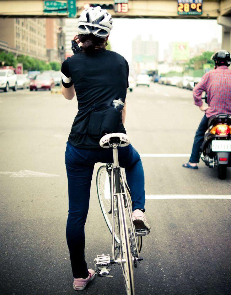 Fotografía de ciclismo urbano: Objetivo bicicleta