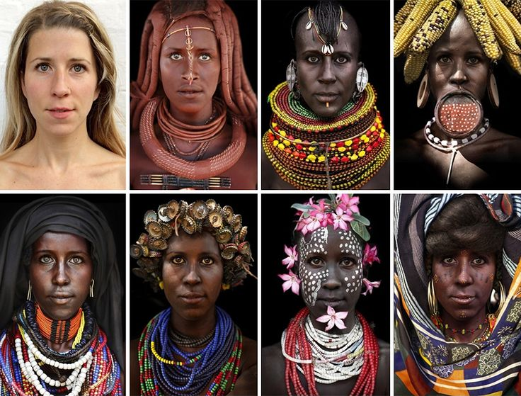 She Morphed herself Into Tribal Women To Raise Awareness Of Their Secluded Cultures