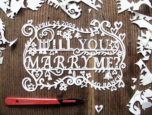 """Will you marry me?"" - also an idea for the #wedding invitation. What do you think?"