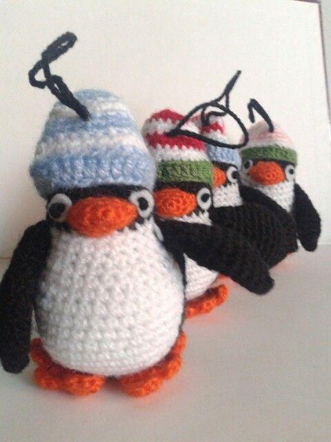 Pingüinos preparados para el frío
