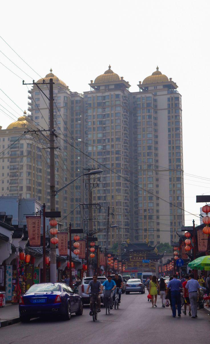 Voyage en Chine: vie de tous les jours à Shanghai