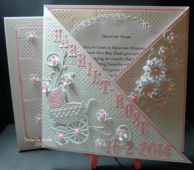 CHRISTENING CARD by: carolynshellard