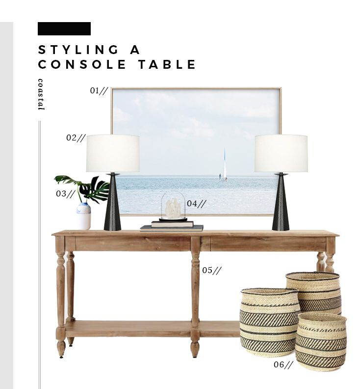 6 Ways To Style An Entryway Console Table Entryway Console Table