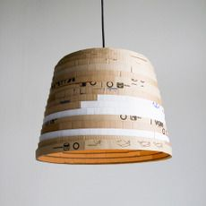Lovely I Canu0027t Understand How A Recycled Cardboard Lampshade Costs Over Two  Hundred And Fifty Quid!