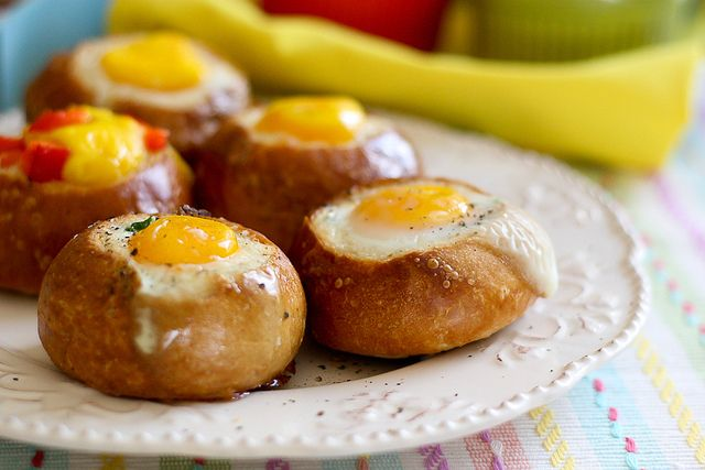Great breakfast idea for holiday guest Customizable Bread Bowl Breakfast