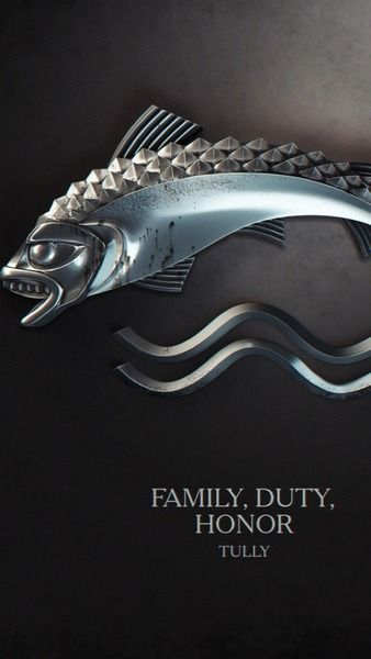 Game of thrones. Game of thrones. I have seen heaps of house sigil arts but these ones are by far the coolest. #Tully