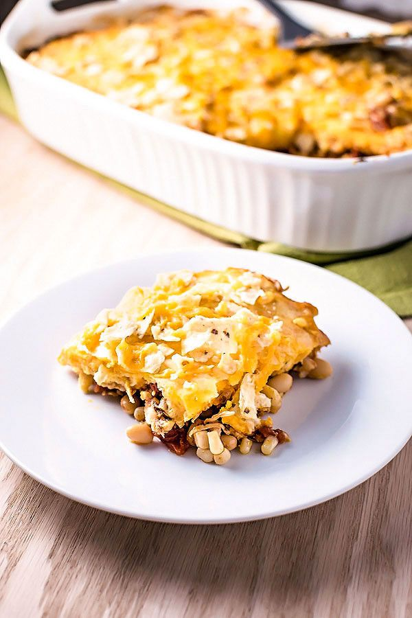... Chicken Taco Casserole on Pinterest | Taco Casserole, Tacos and
