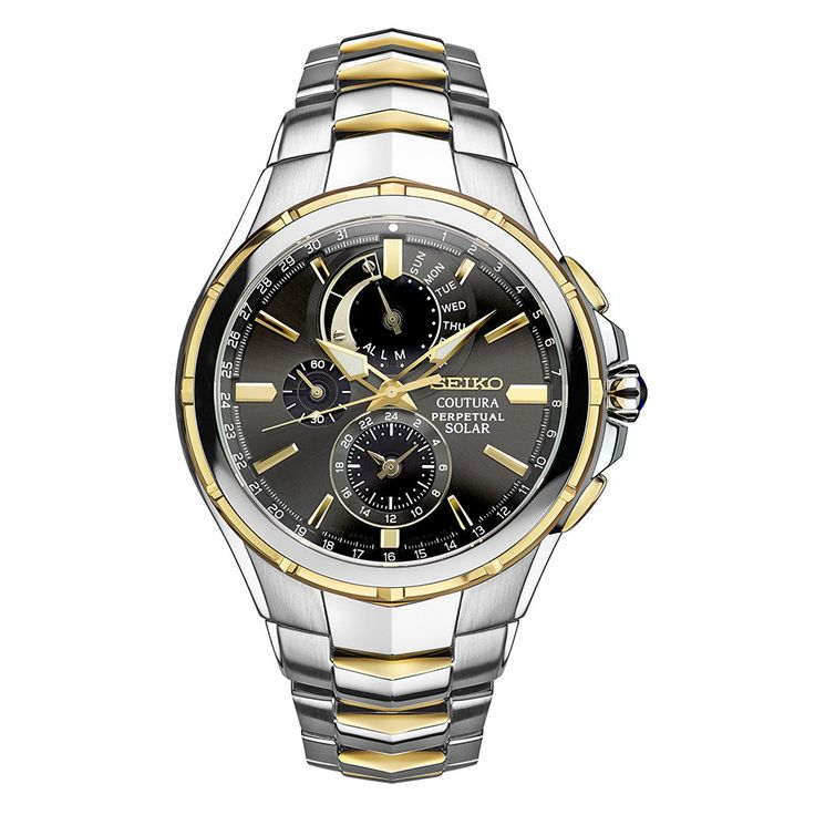 Seiko Coutura Men's Perpetual Calendar Solar Watch SSC376-DM