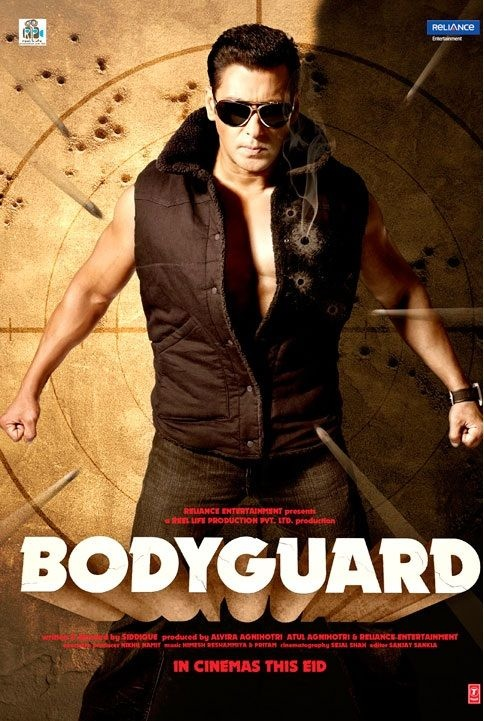 Bodyguard - bollywood style!