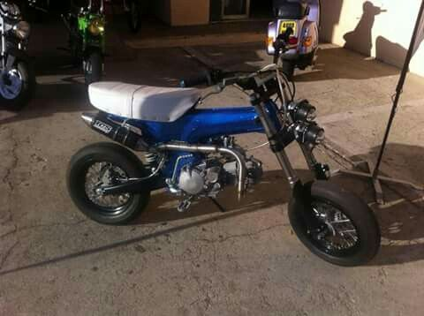 dax dirt supermotard wheels pinterest honda mini bike and wheels. Black Bedroom Furniture Sets. Home Design Ideas