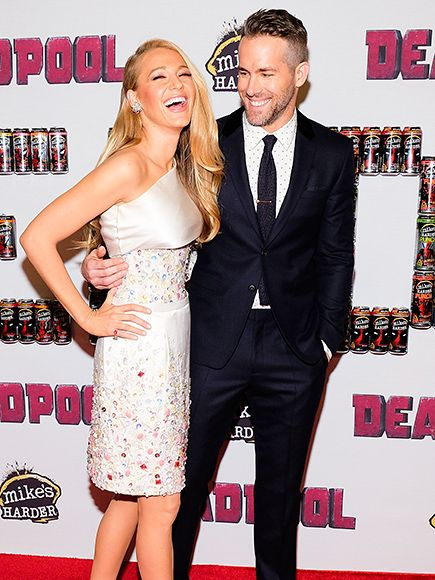 Star Tracks: Tuesday, February 9, 2016 | PARENTAL CONTROL | Blake Lively cracks up while supporting husband Ryan Reynolds at a fan event for his new movie Deadpool on Monday in New York City.