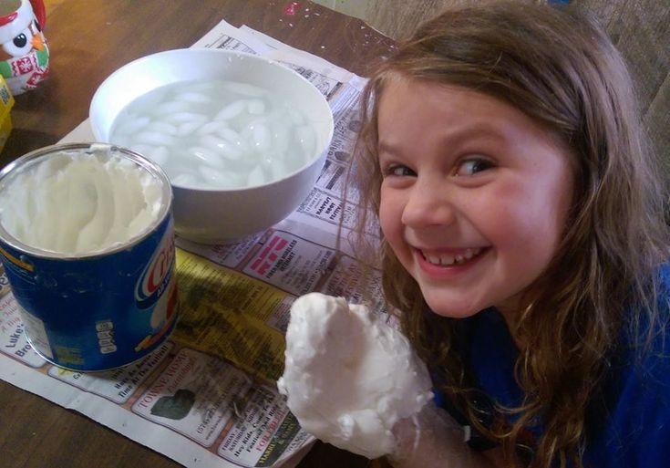 Blubber experiment #homeschool #arctic fun for kids