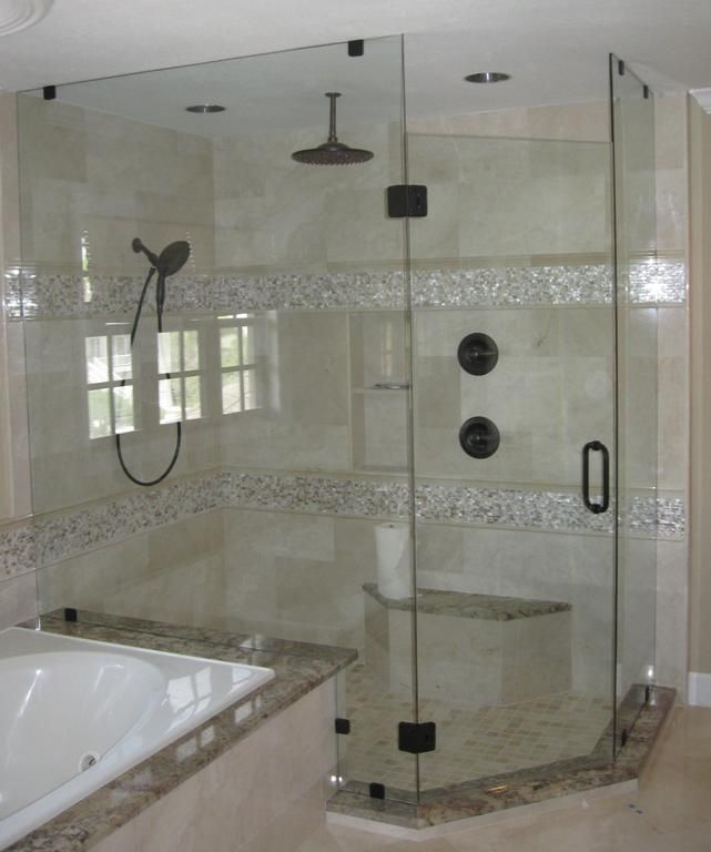 7 best Bathroom Remodels by Dallas Bath and Glass images on