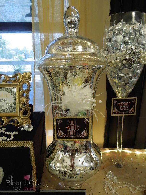 Great Gatsby Candy Buffet Quinceanera Fun Ideas Gatsby