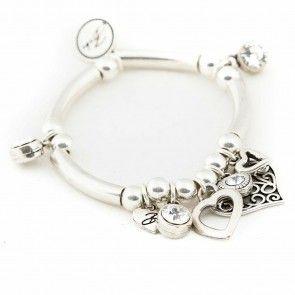 Bibi Bijoux tube bead bracelet