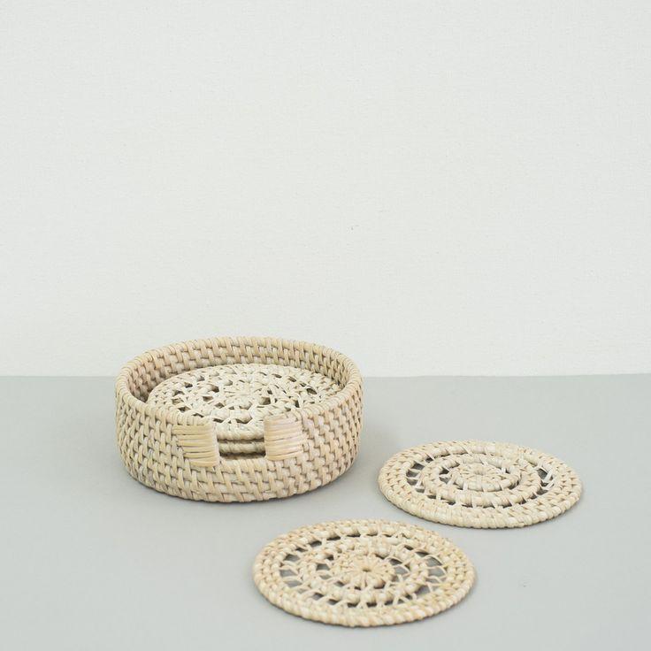 Rattan Coasters (s6)