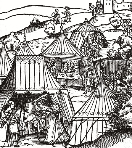 Belagerung von Betulia  Siege of Betulia, detail.  This image depicts the Biblical story of Judith decapitating Holofernes.