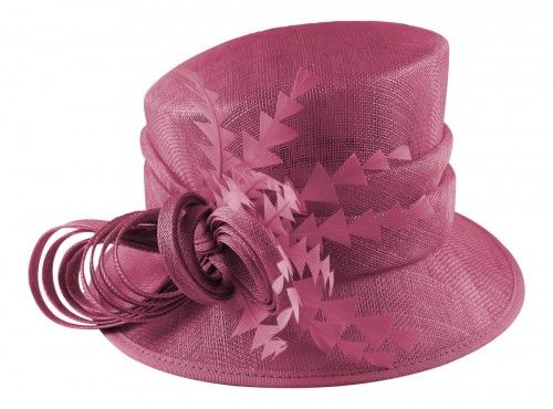 ecd15530284 Hawkins Collection Nested Loops Wedding Hat in Pink