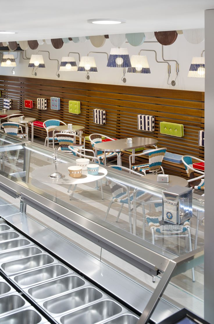 259 best arredo gelateria images on pinterest | restaurant design ... - Arredamento Interni Gelateria