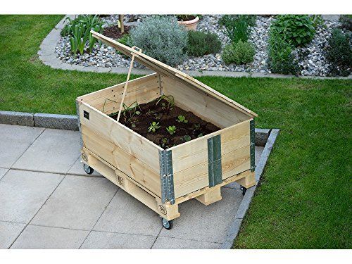 Perfekte Gartengestaltung So Wird Ihr Garten Zum Kleinen Paradies Hochbeet Hochbeet Aus Paletten Palettenrahmen