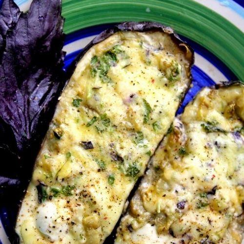 Баклажаны с творожно-сыр…