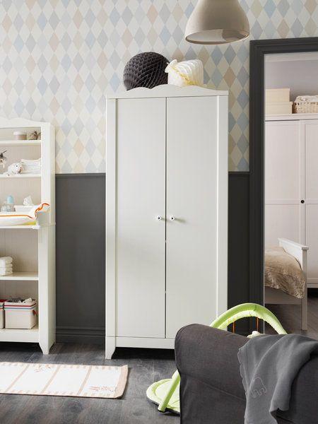 armario exento en color blanco de ikea