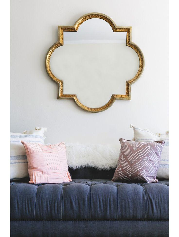 Leonie Gold Mirror