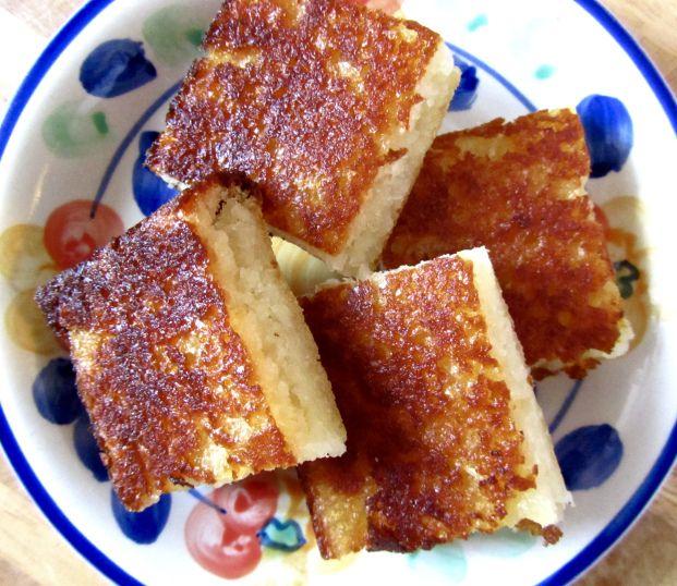 Fijian Cassava Cake (paleo, AIP, vegan) | Scrumptious Scribbles