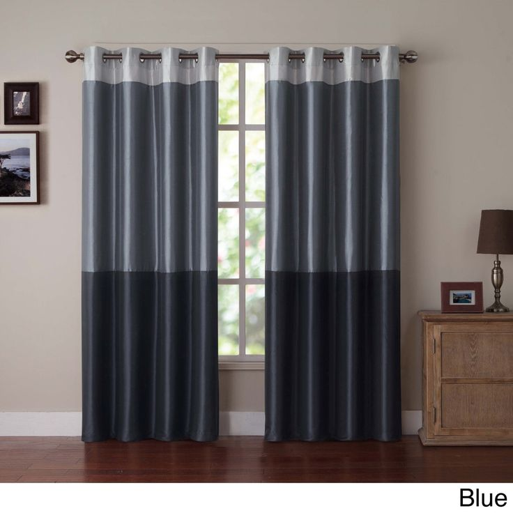 78 best images about color block window treatment panels Contemporary drapes window treatments