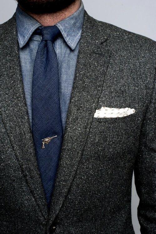 CESPINS❤Man in Pink | Blue  Grey ...repinned vom GentlemanClub viele tolle Pins rund um das Thema Menswear- schauen Sie auch mal im Blog vorbei www.thegentemanclub.de