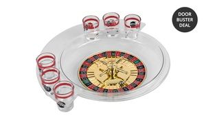 Groupon - Trademark Games The Spins Roulette Drinking Game. Free Returns. in Online Deal. Groupon deal price: $9.99