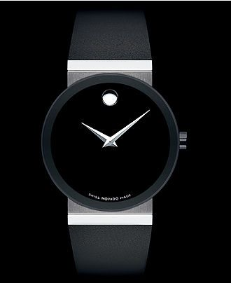 Movado Watch, Women's Swiss Black Rubber Strap 42mm 0606269 - Women's Watches - Jewelry & Watches - Macy's