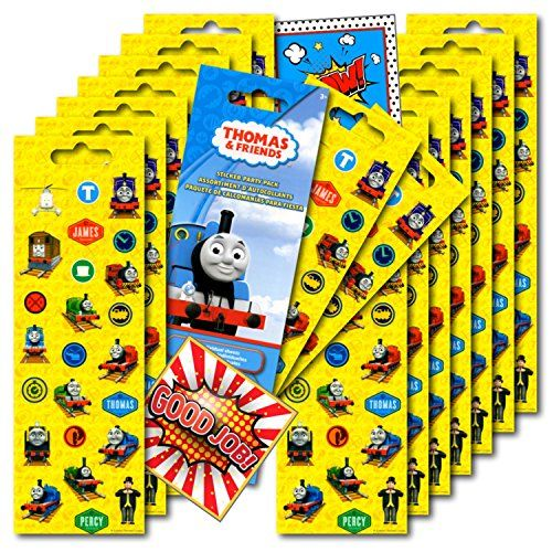 Thomas the Train Stickers Party Favors ~ Set of 2 Sticker...…