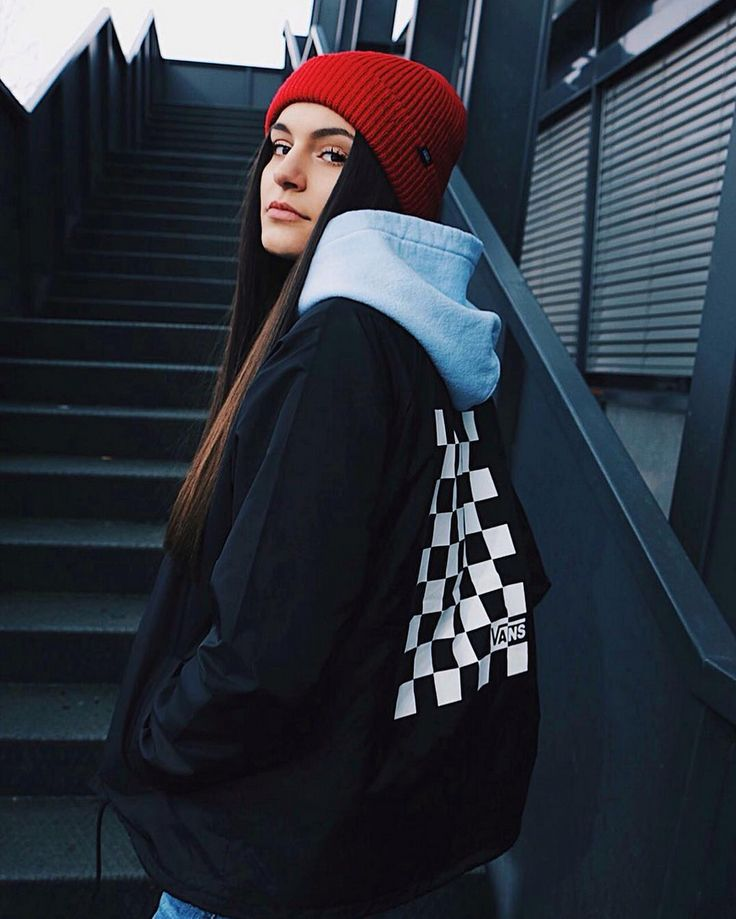 Black, White, & Red All Over.  # You're It: Five of our favorite #VansGirls photos from IG last week.  Tag @vansgirls or #vansgirls on Instagram so we can post your photos here. And you never know, your photo may end up on vans.com!  Via @ivanajelic_