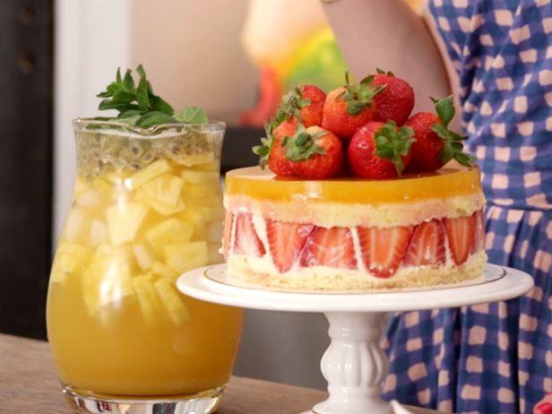 O fraisier é uma sobremesa maravilhosa. Se você fizer, não vai se arrepender