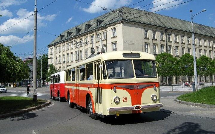 Skoda 8Tr + Karosa B40 in Ostrava