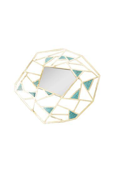 Geometric Mirror Treniq Mirrors. View thousands of luxury interior products on www.treniq.com