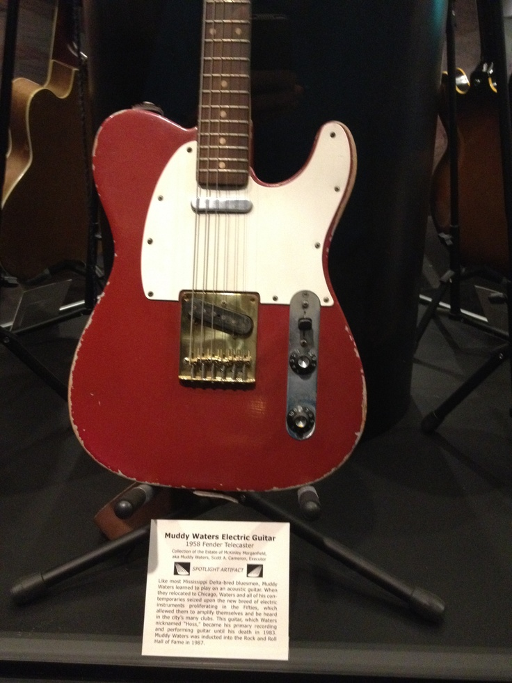 20 best images about Fender Telecaster Muddy Waters on ...