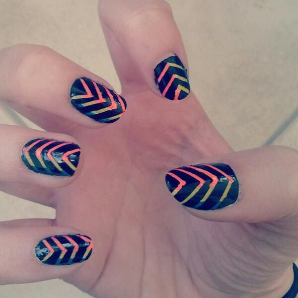 Nail Designs With Striping Tape: 1000+ Images About Striping Tape Nail Designs On Pinterest