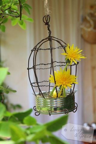 Birdcage DIY - Dosen Upcycling Vogelkäfig DIY